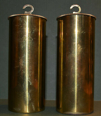 A Particularly Good Pair Of Antique Vienna Regulator Weights