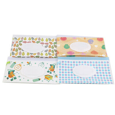 Baby Fresh Wipes Portable Removable Bag EVA Flip Sanitary Wipes Package LH
