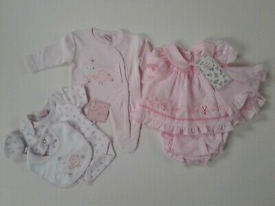 Bundle of premature tiny baby girls clothes size 3-5 lbs