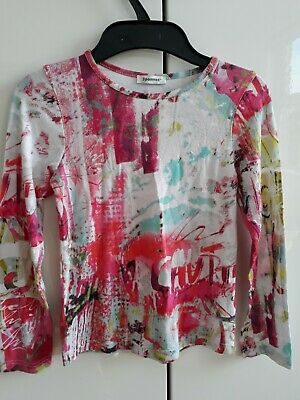 3 Pommes Girls Long Sleeved Top Age 8