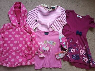 Bundle Of Girls Clothes age 5-6 Including Mini Boden, M&Co & George