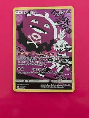 243/236 Koffing / Pokemon Card Game / TCG / SM-12 / Cosmic Eclipse