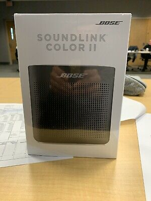 BRAND NEW Bose SoundLink Color II Limited Edition Wireless Speaker - Black