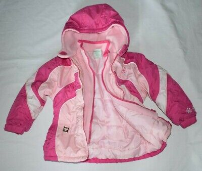 GIRL'S SIZE 2-3 YRS CIRCO PINK WINTER COAT Good Condition NEXT DAY POST