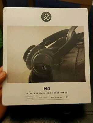 *** B&O Play by Bang & Olufsen Beoplay H4 Over Ear Bluetooth Headphones Black***