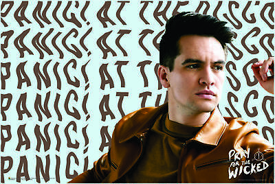 """Panic At the Disco Pray For the Wicked Poster 32x32/"""" Album Cover Print Silk"""