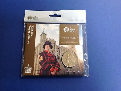 2019 The Yeoman Warders BU £5: The Tower Of London Coin Collection By Royal Mint