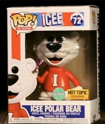 Funko Pop Ad Icons #72 Icee Polar Bear Scented Hot Topic Exclusive PreOrder
