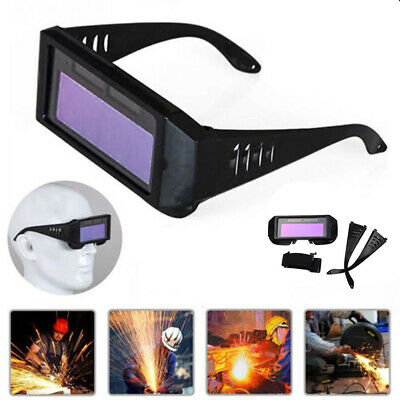 Auto Darkening Welding Goggle Safety Protective Welding Glasses Eyes Goggles