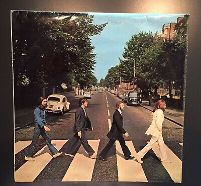 THE BEATLES ‎– Abbey Road (PCS 7088 YEX 749-2/750-1) Vinyl LP; UK 1969.