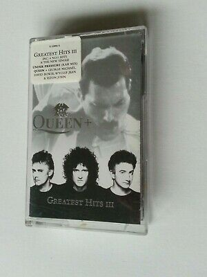QUEEN  -  QUEEN + GREATEST HITS 3      Cassette