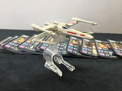 Star Wars 2005 Collectors Cards ~ Lucasfilm Ltd & X Wing Fighter Model