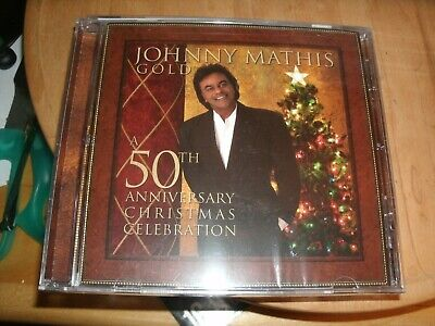 Gold: A 50th Anniversary Christmas Celebration by Johnny Mathis (CD,...