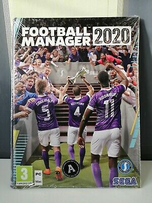 Football Manager 2020 PC/MAC Game (BRAND NEW AND SEALED & SAME DAY DISPATCH!)