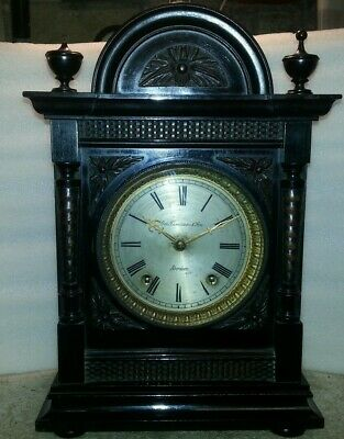Antique bracket clock W&H For TLC.