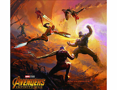 The Art of Marvel's Avengers: Infinity War  [Hardcover Book] New and Sealed!!