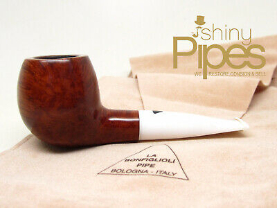 Bonfiglioli SHORT SNORTER Estate Pipe with Orig Sleeve - j31