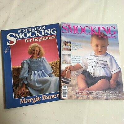 Australian Smocking For Beginners Margie Bauer Smocking & Embroidery Magazine 46
