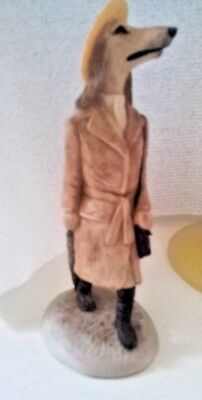 Vintage Robert Harrop Afghan Hound - Lady Country figurine 2nd edition -1988