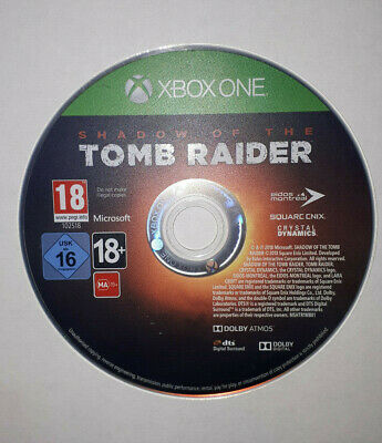 Shadow of the Tomb Raider - DISC ONLY - (Microsoft Xbox One)