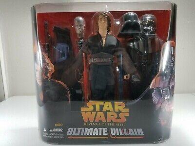 """Star Wars Revenge Of The Sith 12"""" Ultimate Villain Anakin to Vader Hasbro 2005"""