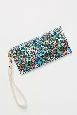 NEW-Rifle Paper Co. for Anthropologie Meadow Travel Wallet MSRP $36.00