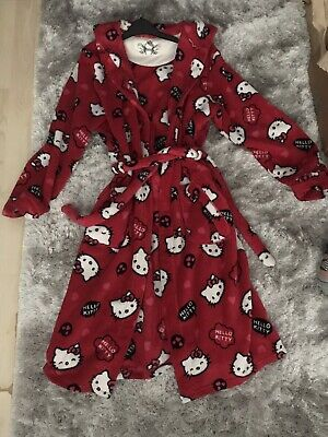 Hello Kitty Dressing Gown 13-14 Years
