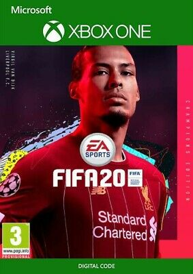 FIFA 20 Champions Edition Xbox One DIGITAL  game full game