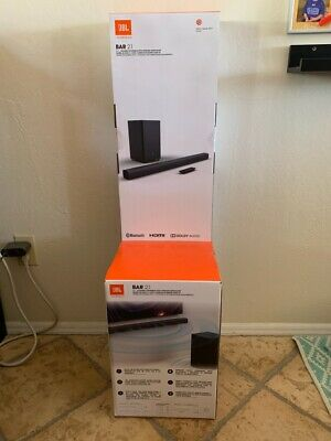 JBL Bar 2.1 Channel Soundbar with Wireless Subwoofer