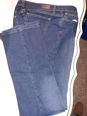 Riders By Lee Womens Blue Jeans Size 14L