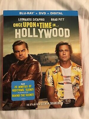 Once Upon A Time In Hollywood Blu-ray/dvd/digital , Brand New With Free Shipping