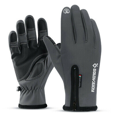 Winter Touch screen Gloves, Windproof Waterproof Thermal Thick Gloves Skiing