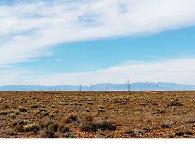 Fabulous 5 Acre Colorado Ranch, San Luis Valley, Power Lines At Lot's Edge
