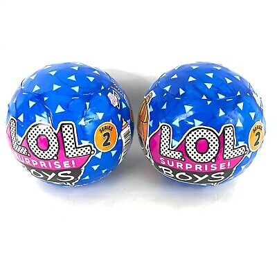 LOL Surprise BOYS Series 2 Sealed Authentic MGA Lot of 2 Balls IN STOCK New