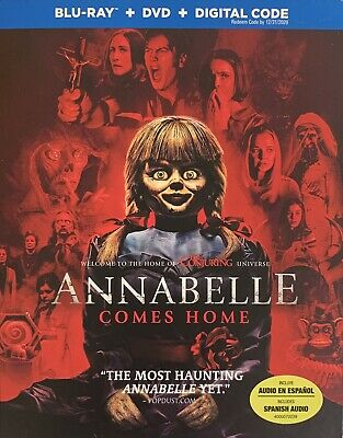 ANNABELLE ~ COMES HOME ~ Blu-Ray + DVD + Digital *New *Factory Sealed