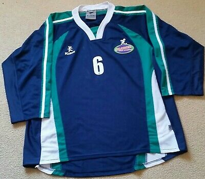"Hockey Goalkeeper Smock Green & Blue Size Small 38"" Chest"