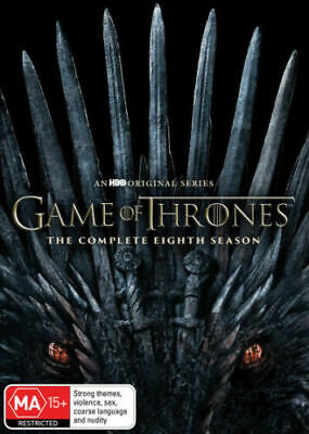 Game of Thrones Season 8 Final BRAND NEW R4 DVD IN STOCK NOW GENUINE