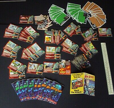 LOT 1994 Topps USA Mars Attacks Bubblegum Trading Cards Re-Issues + New Series