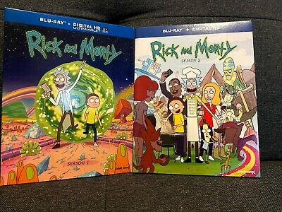 Rick and Morty: The Complete First Season and Second Season Blu Ray