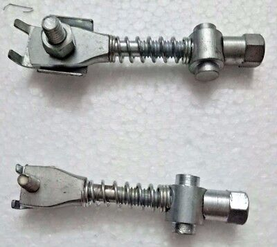 CODE 1819 LAMBRETTA FRONT /& REAR BRAKE CABLE ADJUSTER WITH WHEEL #VP38