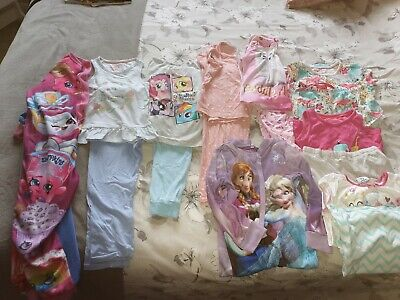 Girls Pyjamas PJs Bundle Age 4-5 M&S, frozen