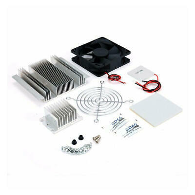 12V 5.8A 60W Thermoelectric Peltier Refrigeration Cooling System Kit Cooler Fan