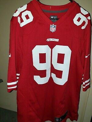 ** OFFICIAL NFL San Francisco 49ers Nike Jersey Size Medium - #99 Smith **