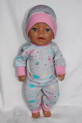 dolls clothes 43cm Baby Born doll or similar gift outfit girl set tracksuit