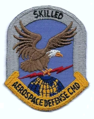 Usaf Patch Aerospace Defense Command 'Skilled'