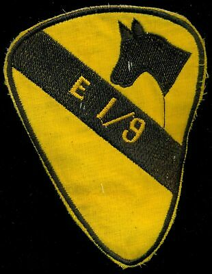 US ARMY PATCH VIETNAM E Co 1st BATTALION 9th CAVALRY 1st CAVALRY DIVISION VIETNA
