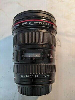 Canon EF 17-40mm F4.0 L USM Lens - EXCELLENT CONDITION BOXED WITH CANON HOOD