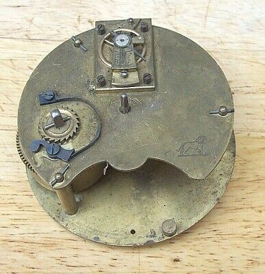 French Barrel Clock Movement with Platform Escapement