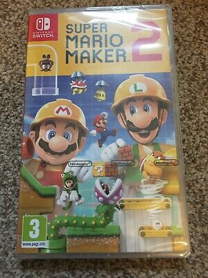 Super Mario Maker 2 Nintendo Switch Game BRAND NEW SEALED FAST FREE POST