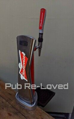 Budweiser Lager Beer Pump/Font Tap And Handle ..Home Bar Pub Etc